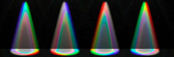 Spectral raytracing for LED Designs