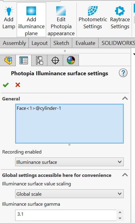 Solidworks 3D IP Settings