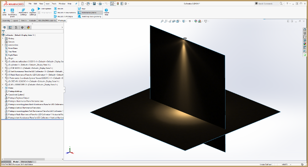 Shaded results in SOLIDWORKS